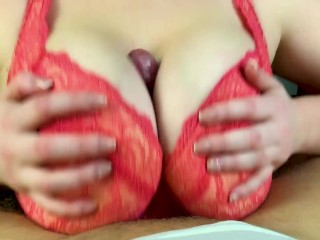 Hot amateur tits fuck Pov close up tits job from my girlfriend