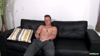 ActiveDuty Straight & Solo 22yo Soldier Masturbating Arab cumshot