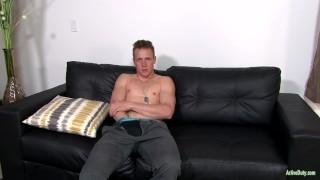 ActiveDuty Straight & Solo 22yo Soldier Masturbating Fuck ass