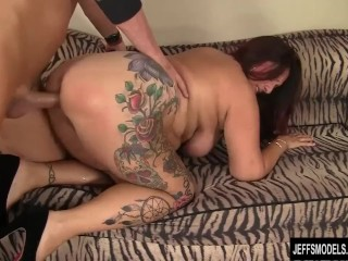 Chubby Mature Slut Fucked Hard by Fitness Trainer