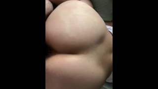 Big butt friend let's me smash again Dick skinny