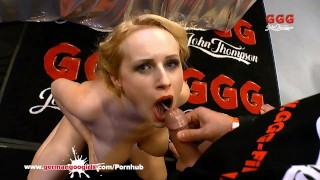 Chessie Kay and Angel Wicky Big Tits and Cum German Goo Girls