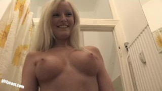 Behind hc bella the blond first scenes couple blonde