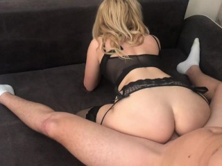 My Horny Sis surprise me with ASS TO MOUTH