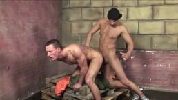 Serve me - fuck me bareback Masters Vs. Slaves fuck action