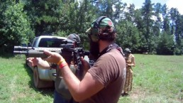 Blowing up Some Tannerite and Chalk before the 4th of July