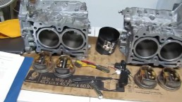 2007 Subaru Impreza Rebuild - Part 2 - Pistons Cylinders and How To Piston