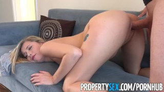 Game her video streamer landlord fucks female propertysex point cowgirl