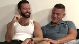 Hot Hairy Muscular Irishmen Barely Has Gag Reflex!