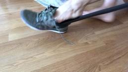 Biggest Shoehorn You've Ever Seen Foot Fetish Asa Akira