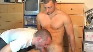 Roger Handsome hetero's hard cock to suck in spite of him.  get wanked big cock dick wank cock massage gay hunk handsome muscle straight guy keumgay jerking off serviced