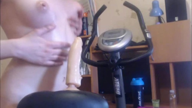 Hot Skinny Teen Babe Has Dildo For A Bicycle Seat - Pornhubcom-4475