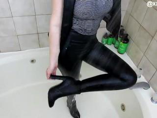 Leather wetlook 2