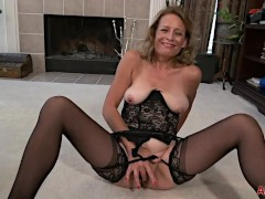 Horny Cowgirl MILF Jade Allan on Allover30