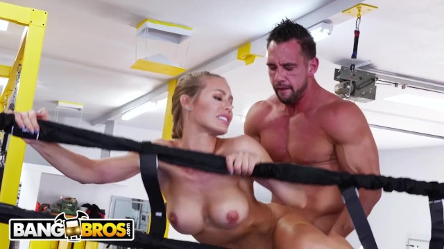 Blowjob ring of box - Bangbros - sweaty pawg nicole aniston fucks her trainer in boxing ring