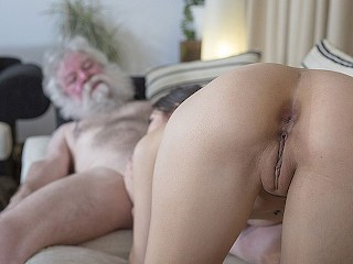 Tight pussy old man