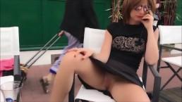 Public Pussy Flash