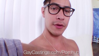 GayCastings Naive newcomer Zander Cole fucks casting agent