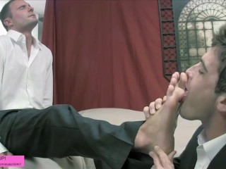 Another Businessman Foot Fest