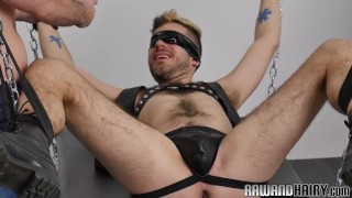 Preview 3 of Blindfolded otter barebacked from behind