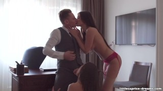 Mistreated during job interview - Little Caprice, Alina Henessy, PART 2 porno