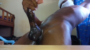 Hidden Camera Captures Moaning Oily Teen