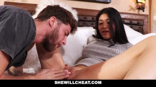 SheWillCheat - Hot Wife Brenna Sparks Fuck Boy Toy  big tits big cock cheating cuckold wife asian milf hardcore brunette reality facial big boobs brenna spark cum shot shewillcheat unfaithful