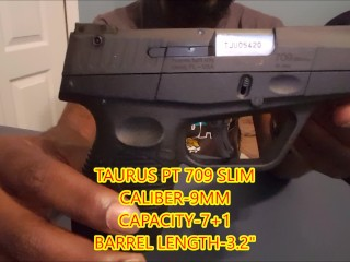 TAURUS PT 709 SLIM UNBOXING VIDEO!!!