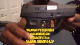TAURUS PT 709 SLIM UNBOXING VIDEO!!!