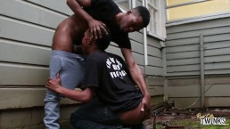 Two Black Twinks Get Nasty and Raw