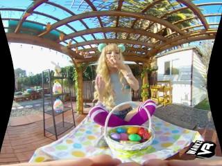 WankzVR - Some Easter Eggsanity ft. Kenzie Reeves & Victoria Steffanie