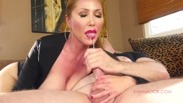 Dirty Talking Mommy Gives You The Perfect Blowjob
