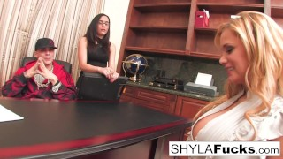Shyla is willing to do whatever it takes porno