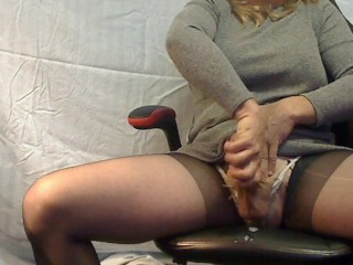 Pale blonde girl pussy