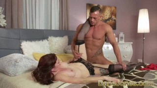 Jones elena stunning vega dane for redhead anal czech face and fuck deepthroat side