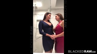 BLACKEDRAW Two Party Girls Cheat With BBCs After The Club Cowgirl vixen