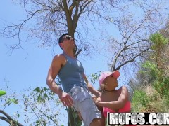 Mofos - Latina Sex Tapes - Latina Hiker Makes Outdoor Sextape , Luna Star