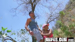 Mofos - Latina Sex Tapes - Latina Hiker Makes Outdoor Sextape , Luna Star