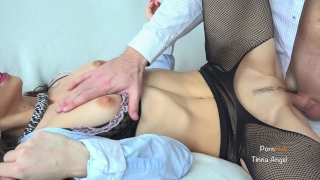 Until fucks hot boss squirts she secretary young orgasm