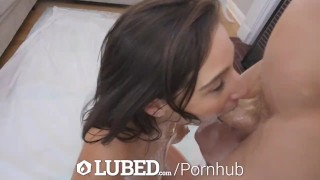 LUBED Oiled up Abella Danger toys dripping wet pussy for big dick Videos bdsm