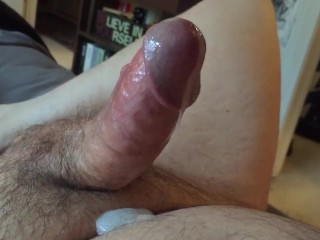 Watch My Cock Throb As I Orgasm