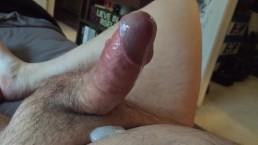 Watch My Cock Throb As I Orgasm