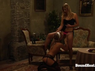 The Submission of Sophie: Pussy Licking And Spanking In Bondage