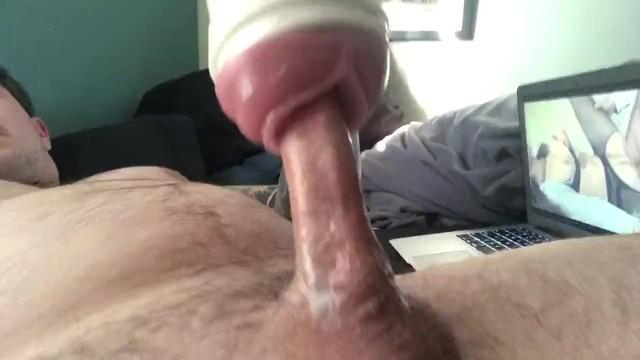 Shemale Huge Cock Fucks Guy