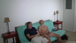 Redneck Hunk Goes 1st Time Gay Rimmed By Creeper Daddy During Porn Casting