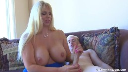 Milf Is Home Alone So She Can Stroke Any Cock