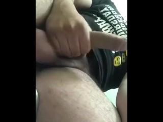 Jacking off