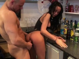 New busty girls seduced and fucked, charlie james awesome lunch special video