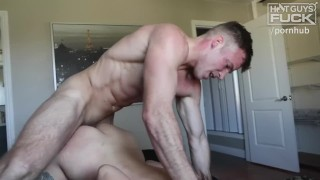 Super Athlete FUCKS band GEEK hot nerd who's starving for a pounding. Small bush