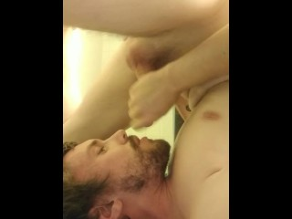 Cumming right into my own mouth